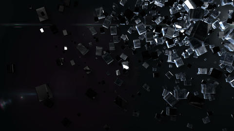 Abstract BG right up Animation