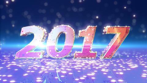 New Year 2017 Animation Animation
