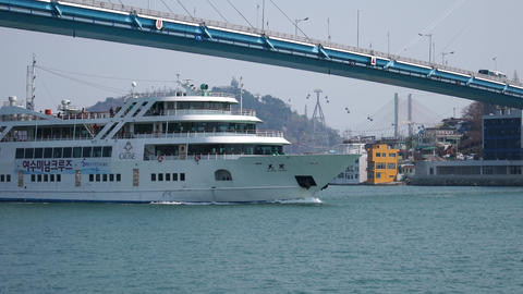yeosu coast travel cruise Live Action