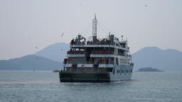 yeosu coast travel cruise Footage
