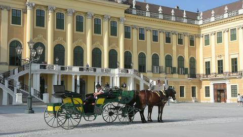 The Schonbrunn castle Footage