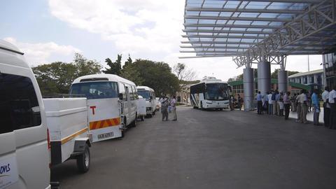 Harry Mwaanga Nkumbula International airport(Livingstone airport) in Zambia Live Action