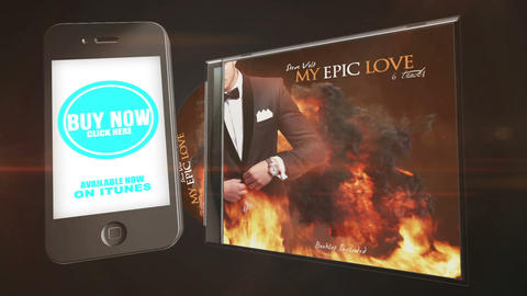 CD Album Advertise Package After Effects Template