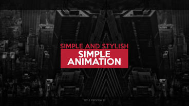 25 glitch titles After Effects Templates