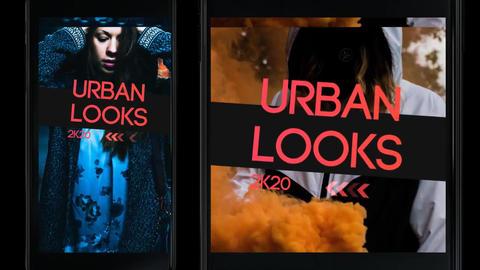 Urban Insta Opener Premiere Proテンプレート