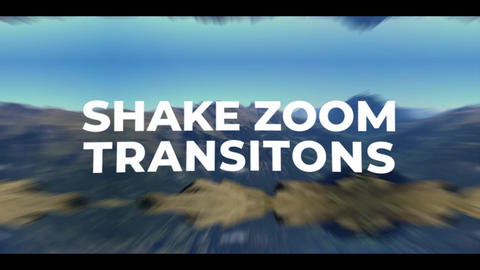 Shake Zoom Transitions Premiere Pro Template