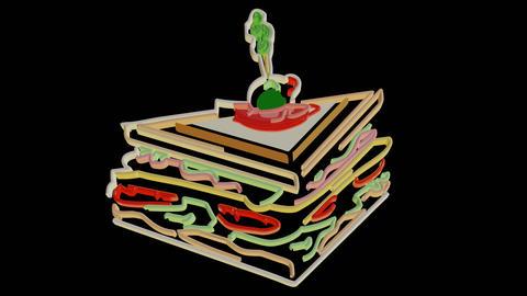 Food Line Art 2