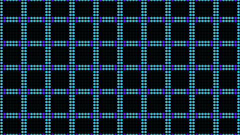 Vintage dynamic iridescent checkered background. Old video game concept Live Action