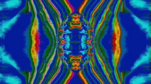 Casual neon cyberpunk elegant iridescent background. Bad tv demonstration Live Action