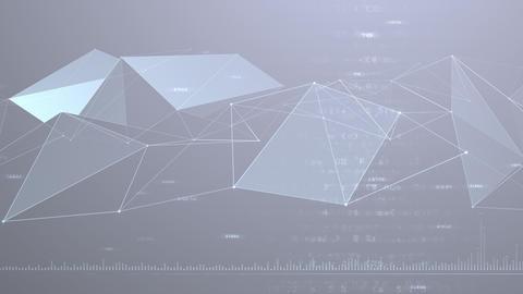 AI artificial intelligence digital network technologies 19 3 BG 7 gray 1 4k CG動画