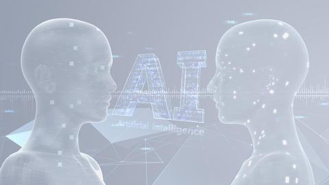 AI artificial intelligence digital network technologies 19 3 Duo 7 gray 1 4k Animation