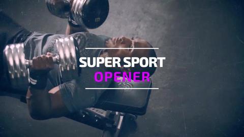 Super Sport Opener Premiere Pro Template