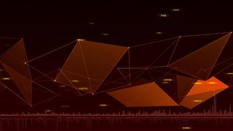 AI artificial intelligence digital network technologies 19 3 BG 7 red 1 4k CG動画