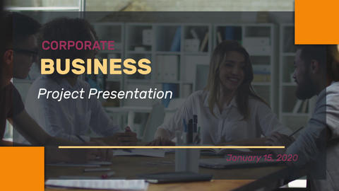 Big Titles Corporate After Effects Template