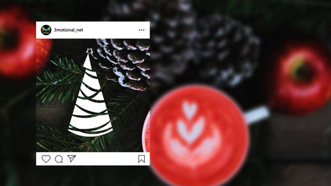 Christmas Doodle Tree Pack 05 MOGRT Motion Graphics Template