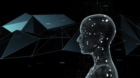 AI artificial intelligence digital network technologies 19 3 Mix 7 gray 1 4k Animation