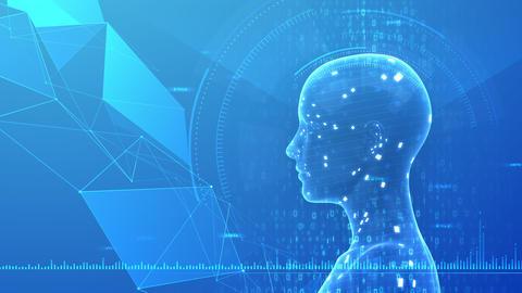AI artificial intelligence digital network technologies 19 3 Mix 7 blue 1 4k Animation
