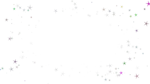 Around star particul(放出)アルファ付き CG動画