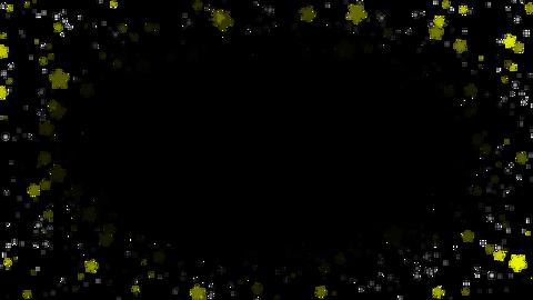 Star&sphere particul(around)アルファ付き CG動画