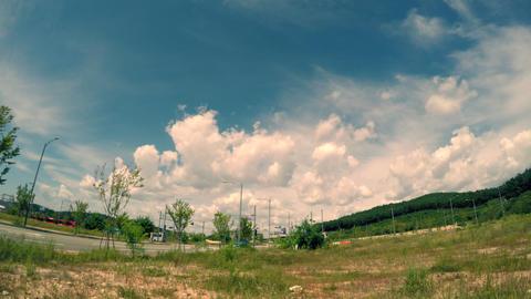 Cloud of Yeongjong Island(4K) Raw Footage