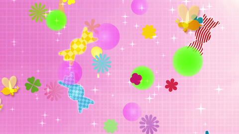 Sweets Background Animation