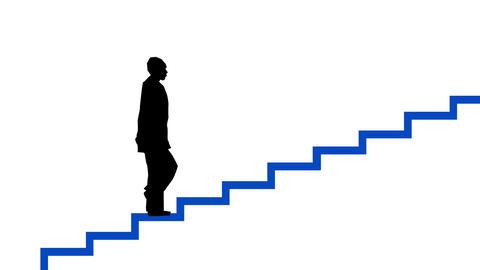 階段を上る Animation