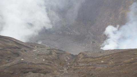 Mt. Aso Japan 아소화산 Footage