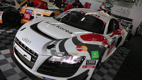 Audi R8 in F1 KOREA Footage