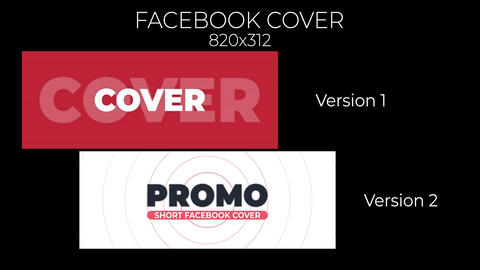 Promo Cover Facebook After Effects Template