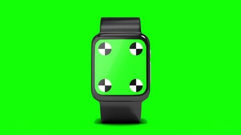Futuristic smartwatch Live Action