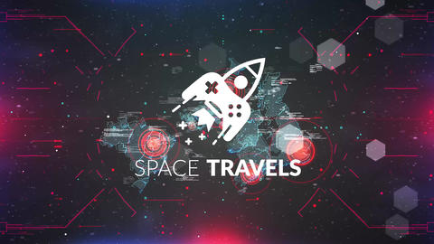 Space Travels After Effects Template