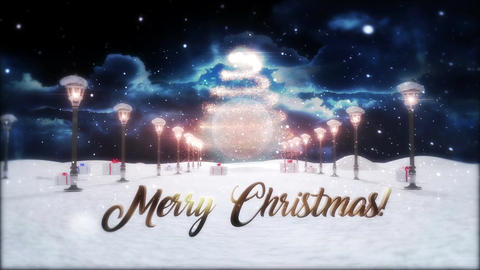 Merry Christmas Logo Reveal After Effects Template