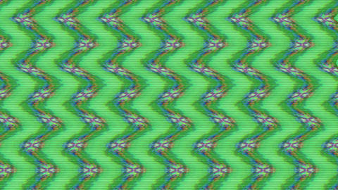 Casual dynamic cyberpunk psychedelic glittering pattern, background. Creative Live Action