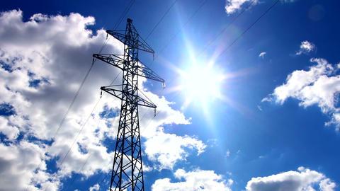 Electricity pylon Footage