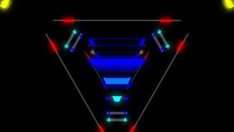 Techno Beat 4K 01 Vj Loop Animation