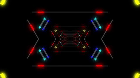 Techno Beat 4K 04 Vj Loop Animation