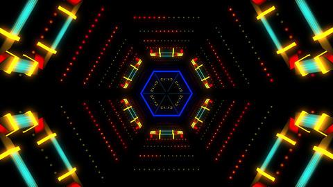Techno Beat 4K 03 Vj Loop Animation