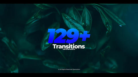 Transitions After Effects Template