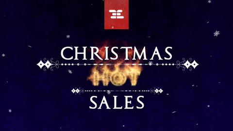 Christmas Hot Sales After Effectsテンプレート