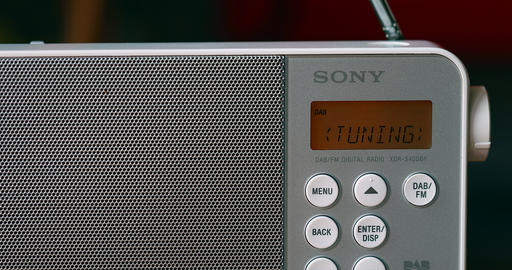 Sony Radio FM Portable Digital Receiver Live Action