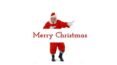 Dancing Santa Clause 4k Animation