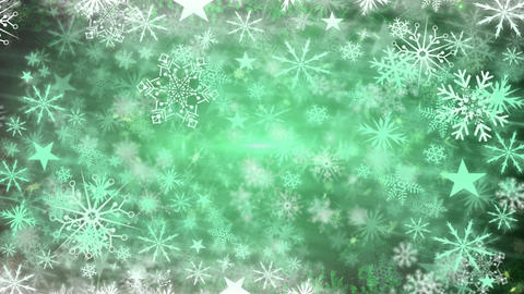 Snowflakes and lights Animation