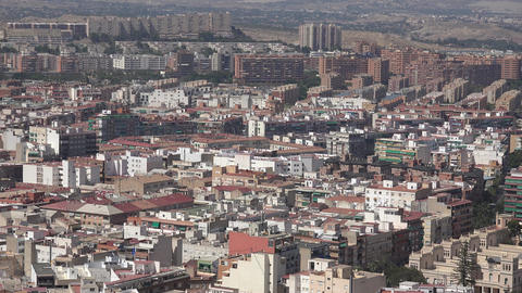 Apartment Buildings In Large Metropolitan City Footage
