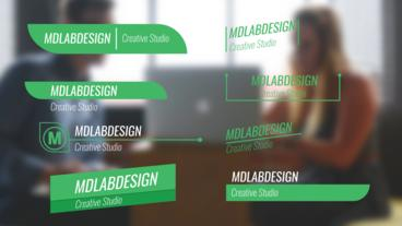 Corporate Lower Thirds After Effects Project