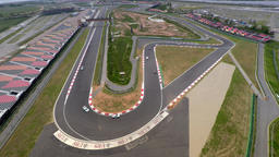F1-TRACK Aerial Clip 2 Footage