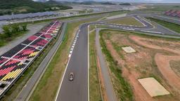 F1-TRACK Aerial Clip 3 Footage