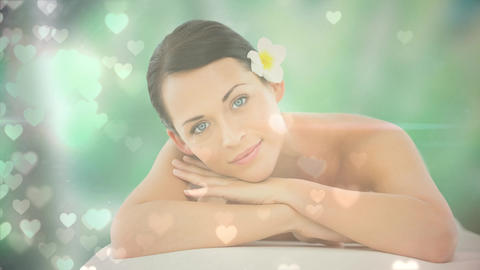 Woman at a spa Animation