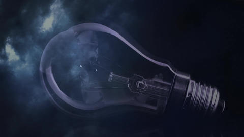 Thunder and light bulb Animation