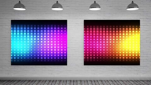 Color explosions on Canvas Animation