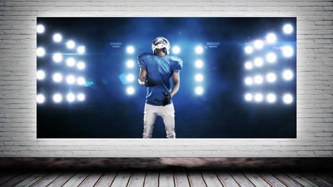 Canvas Football Video CG動画